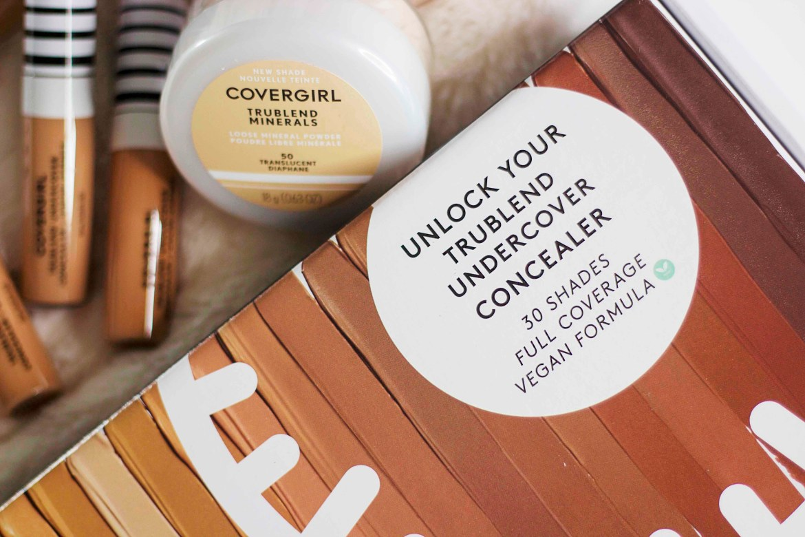 Covergirl Trublend Foundation, Concealer and Minerals Translucent Powder