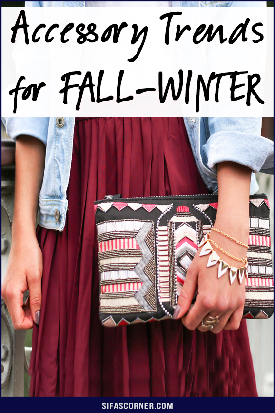Fall Winter 2019 Accessory Trends
