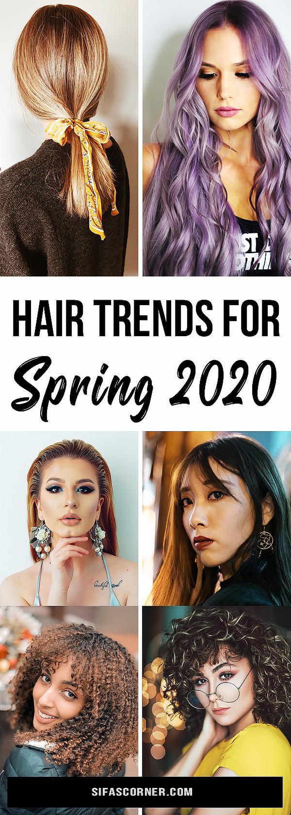 Spring 2020 Hair Trends