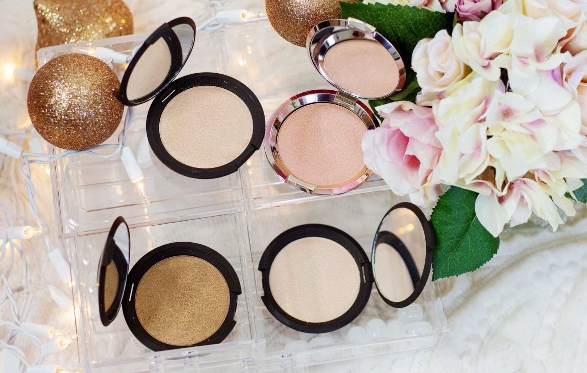BECCA Shimmering Skin Perfector pressed highlighters