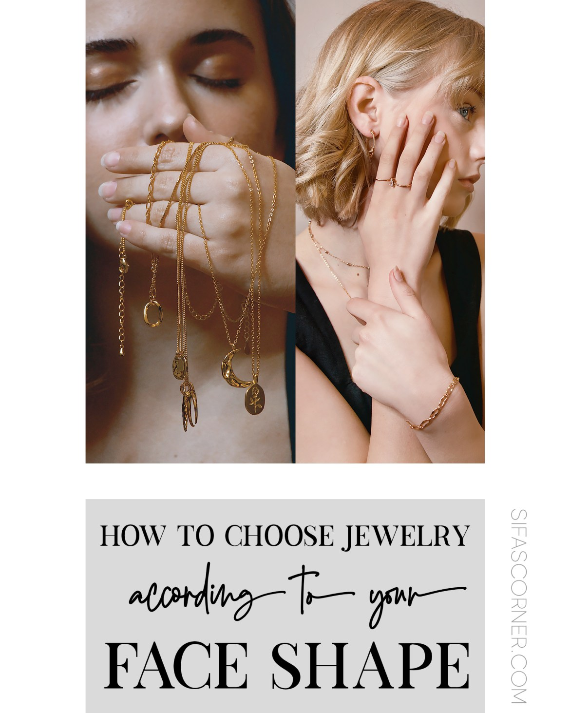 how to choose jewelry for face shape