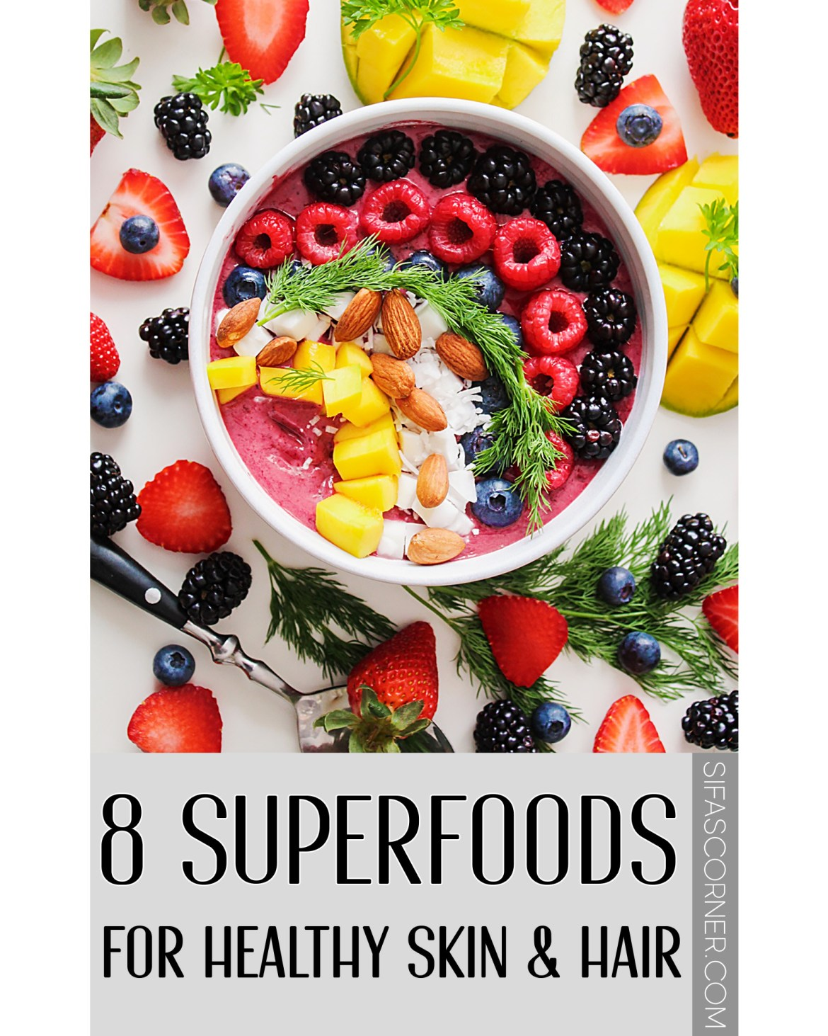 superfoods for healthy skin hair