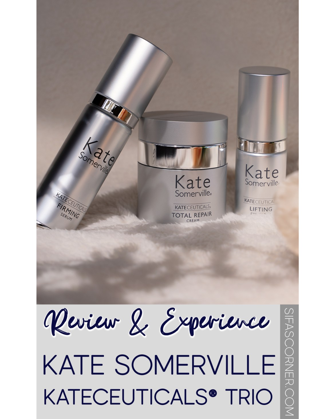 Kate Somerville KateCeuticals Trio-review and experience