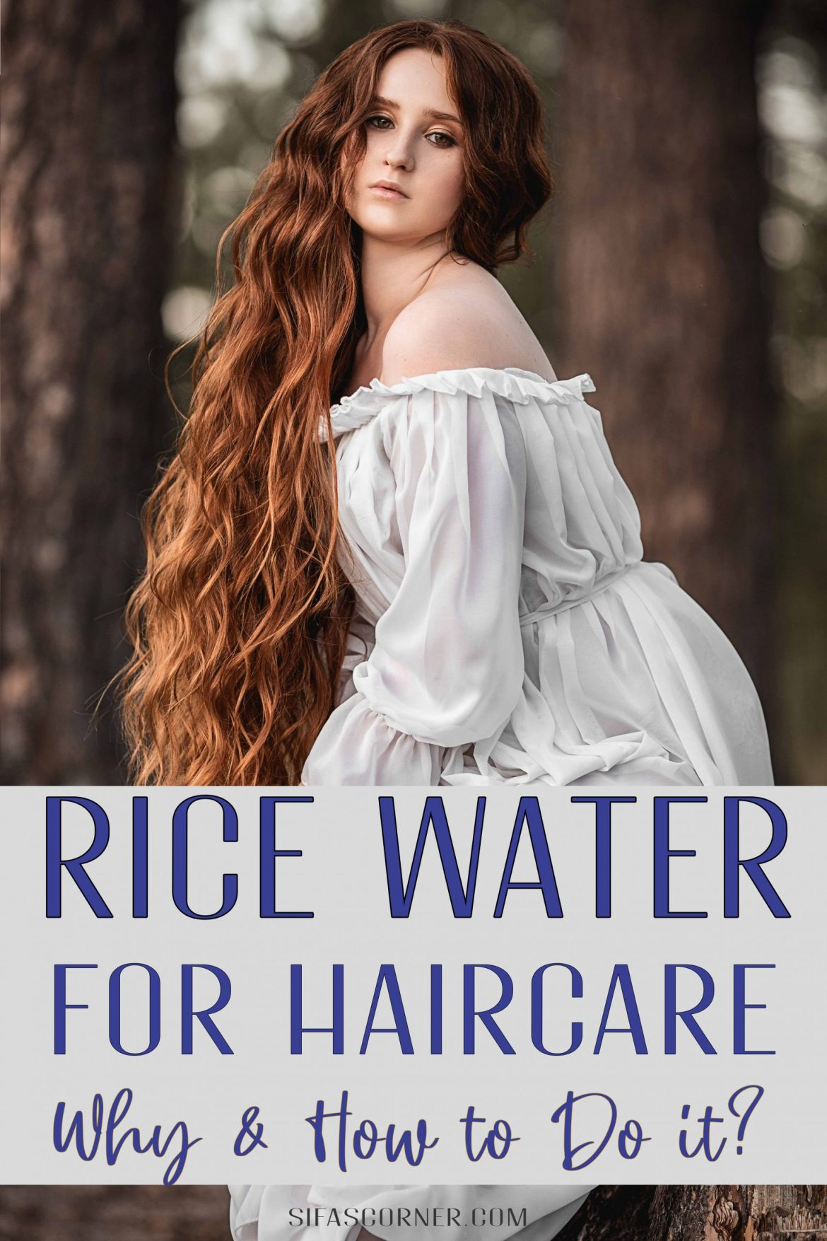 Rice Water for Haircare