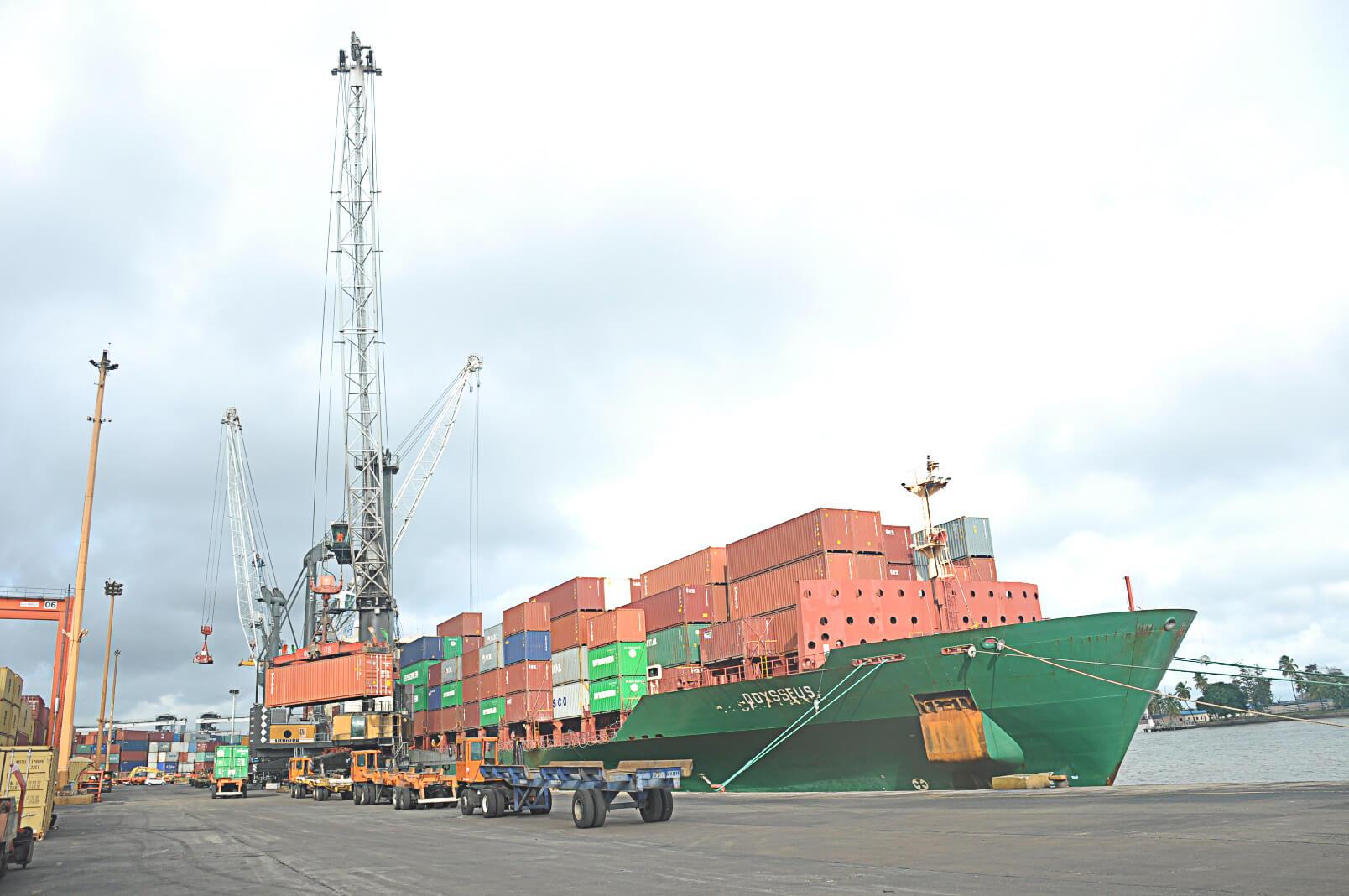 Ship-at-berth-SIFAX-Shipping
