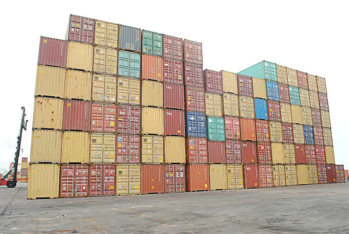 Stack-of-containers-Ports-Cargo