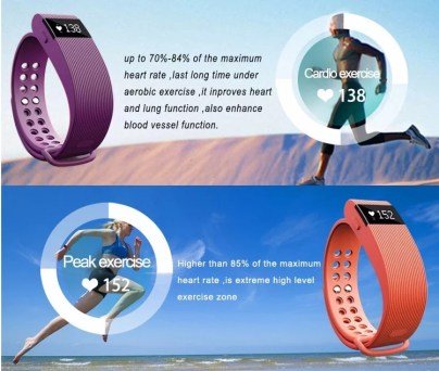 SIFIT-7.8- Heart Rate Monitor Bracelet -10
