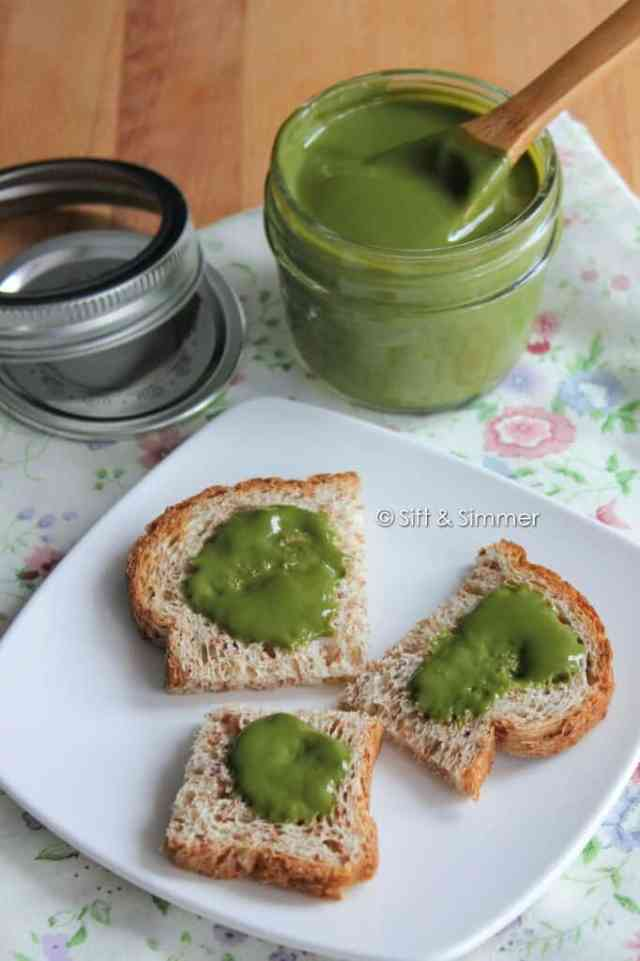Matcha Green Tea Milk Jam Spread