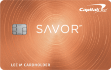 capital one savor