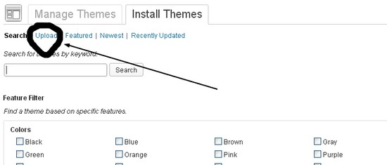 How to manually upload a theme or plugin in Wordpress