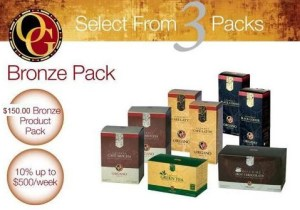 Organo Gold Bronze Package