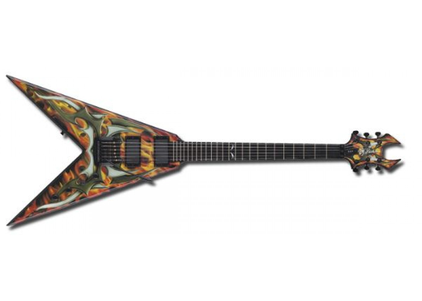 hight resolution of b c rich kerry king signature v generation 2 electric guitar sight sound music