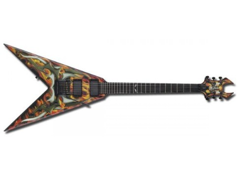 small resolution of b c rich kerry king signature v generation 2 electric guitar sight sound music