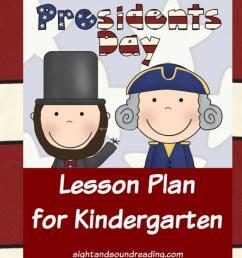 Presidents Day Lesson Plan for Kindergarten [ 667 x 1200 Pixel ]