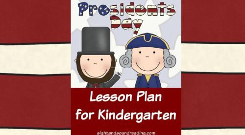 small resolution of Presidents Day Lesson Plan for Kindergarten