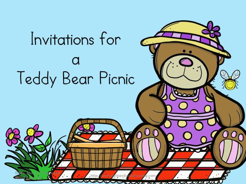 Cartoon Teddy Bear Picnic | cartoon.simplepict.com