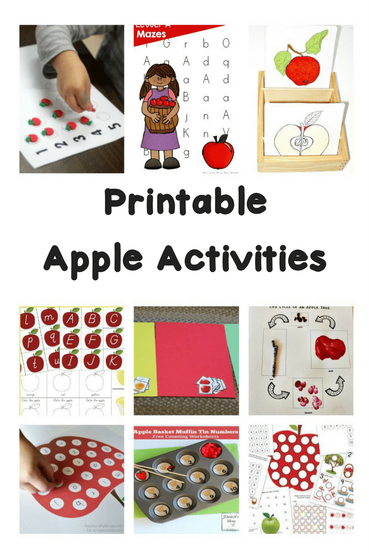 medium resolution of Printable Apple Worksheets and Activities   Make Learning Fun!