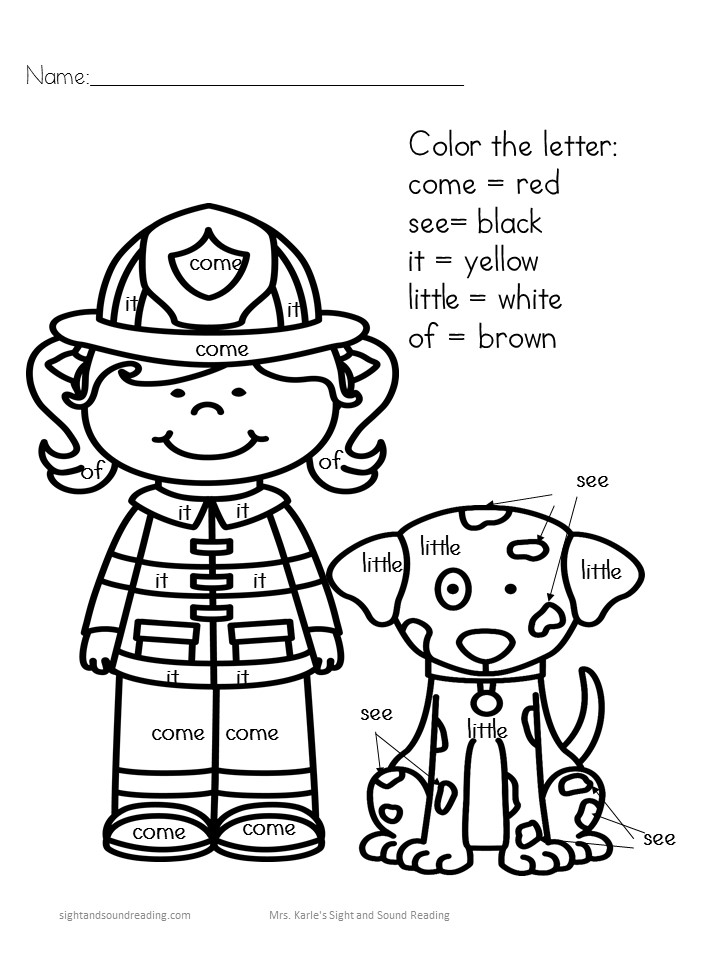 Fire Safety Lesson Plans