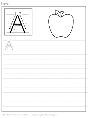 Free Printable Handwriting Worksheets Free Download