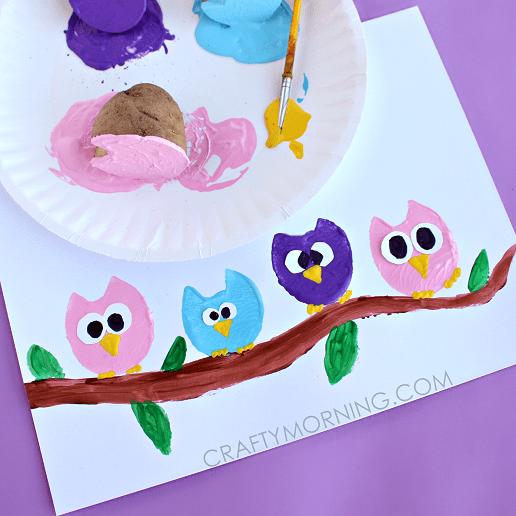 Letter O Crafts For Preschool Or