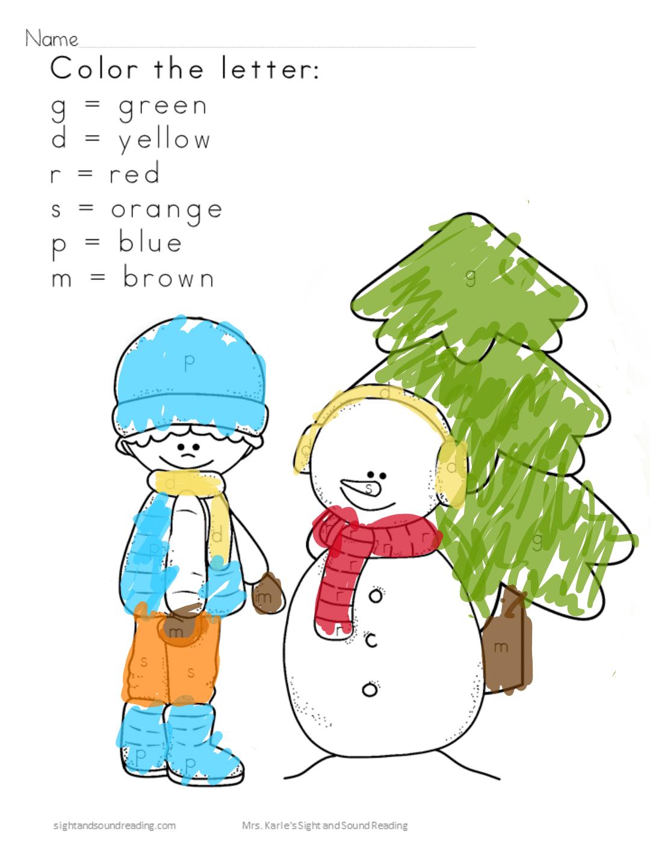 Snowmen At Work Lesson Plans
