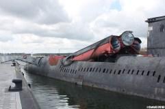 Peenemunde K24 Soviet Juliett Class Submarine