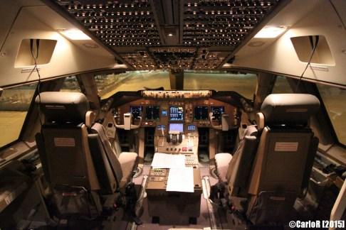 Boeing 747 Cargo ABC Cockpit