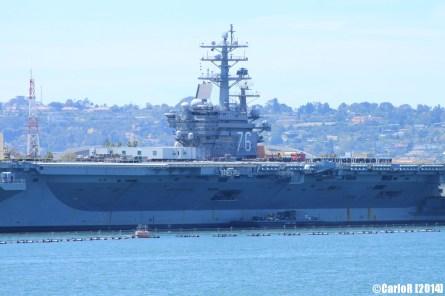 USS Ronald Reagan San Diego CVN-76 West Coast