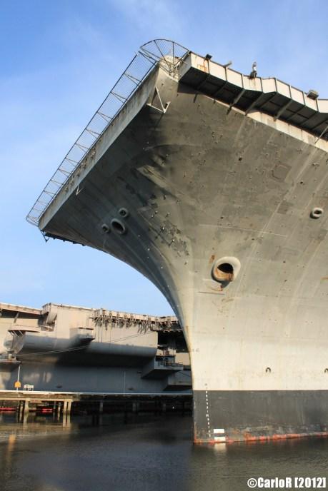 Bremerton Shipyard Fleet USS Independence Kitty Hawk Forrestal class