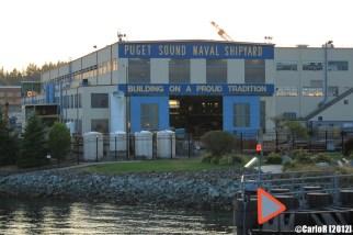 Bremerton Shipyard Puget Sound Washington