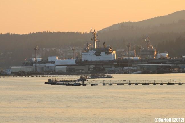 Bremerton Shipyard Puget Sound Washington USS John C. Stennis
