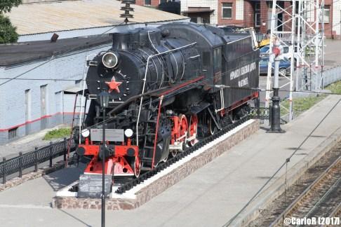 Murmansk Railway Steam Engine