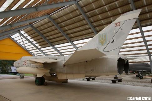 Sukhoi Su-24 Fencer Ukrainian Air Force (ex-Soviet Red Army)