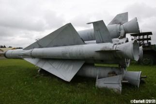 Surface-to-Air Missile (SAM) Russian SA-5