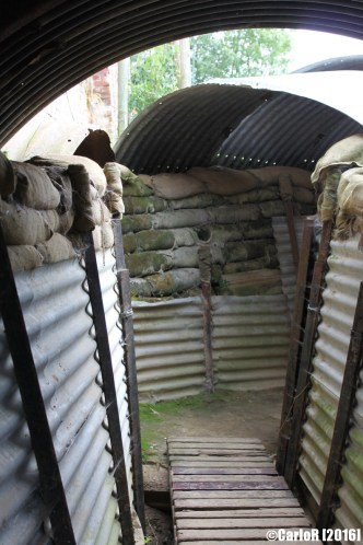 aAuchonvillers Trenches Somme WWI