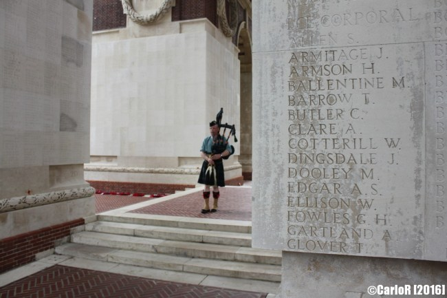 Thiepval British Commonwealth Memorial Somme WWI