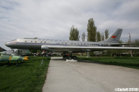 State Aviation Museum Ukraine Kiev Tupolev Tu-104