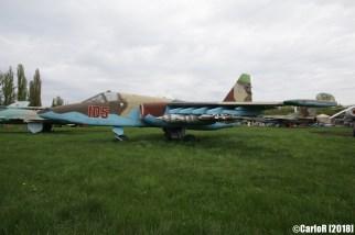 State Aviation Museum Ukraine Kiev Sukhoi Su-25