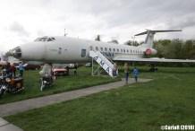 State Aviation Museum Ukraine Kiev Tupolev Tu-134