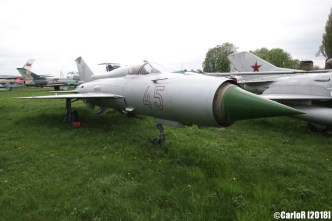 State Aviation Museum Ukraine Kiev MiG-21
