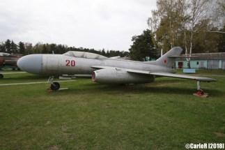 Museum of Aviation Technology Minsk Belarus Air Museum Yakovlev Yak-25
