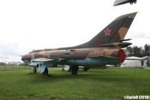 Museum of Aviation Technology Minsk Belarus Air Museum Sukhoi Su-17