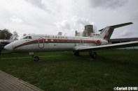 Museum of Aviation Technology Minsk Belarus Air Museum Yakovlev Yak-40