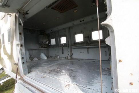Museum of Aviation Technology Minsk Air Museum Mil Mi-24 Cabin