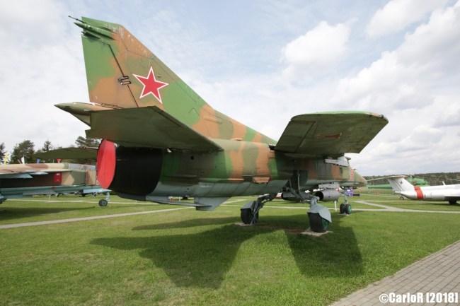 Museum of Aviation Technology Minsk Air Museum MiG-27