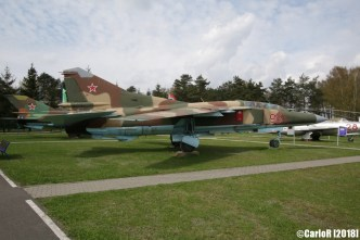 Museum of Aviation Technology Minsk Air Museum MiG-23