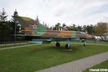 Museum of Aviation Technology Minsk Air Museum MiG-21
