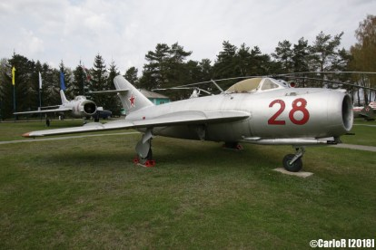 Museum of Aviation Technology Minsk Air Museum MiG-17