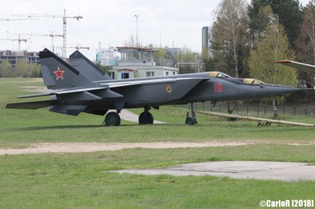 Museum of Aviation Technology Minsk Air Museum MiG-25 Trainer