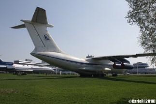 Minsk Airport Museum of Aviation Technology Minsk Air Museum Ilyushin Il-76